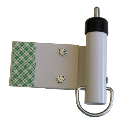 Photo of The RV Awning Travel Lock.
